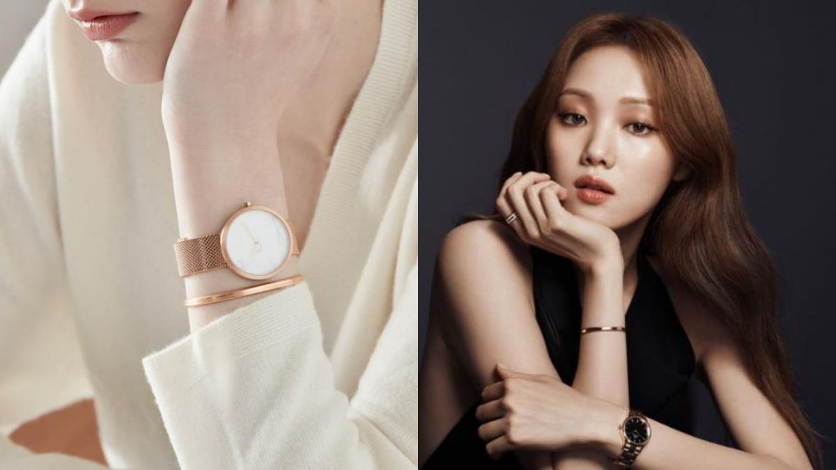 肉肉手戴了也不怕!韓國超夯3大簡約時尚的「顯瘦系手錶」,戴上仙氣滿分快get李聖經同款♥