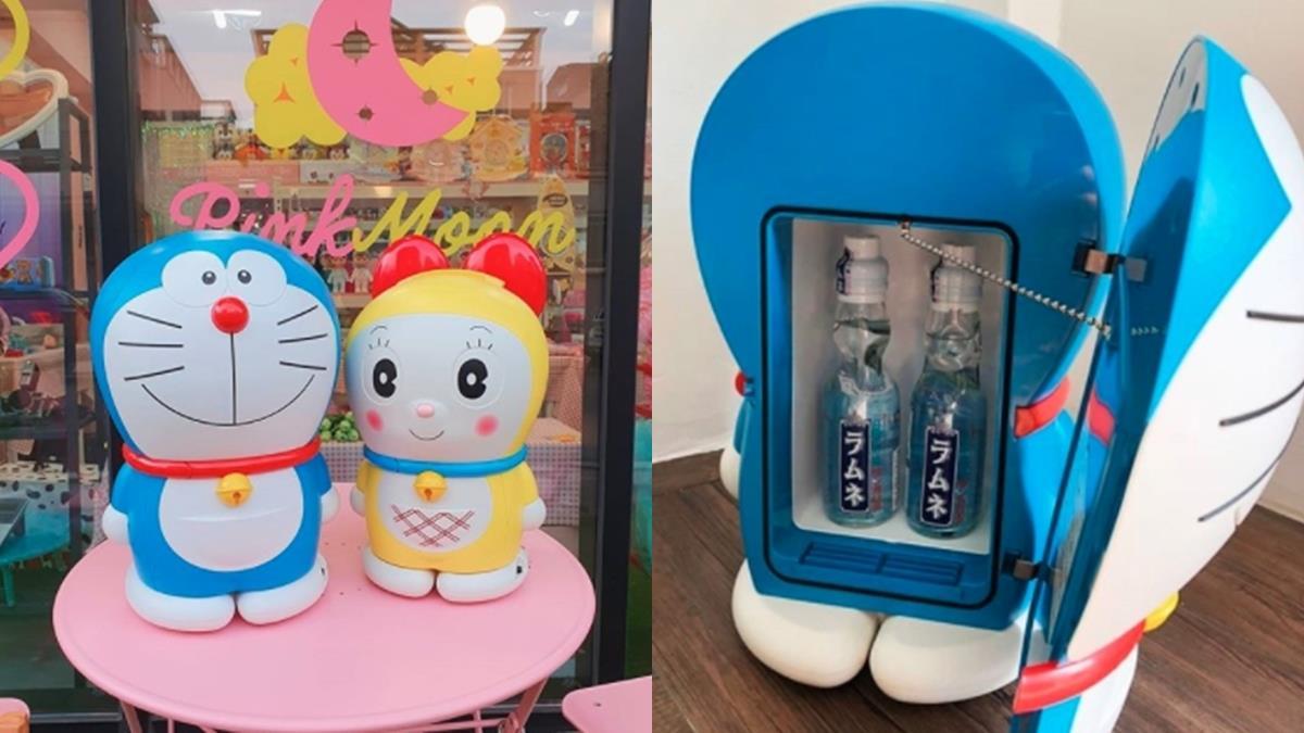 捍衛你的冰飲料!中看又中用的超萌「哆啦A夢小冰箱」可以冰鎮+保溫,外出野餐絕對是眾人焦點~