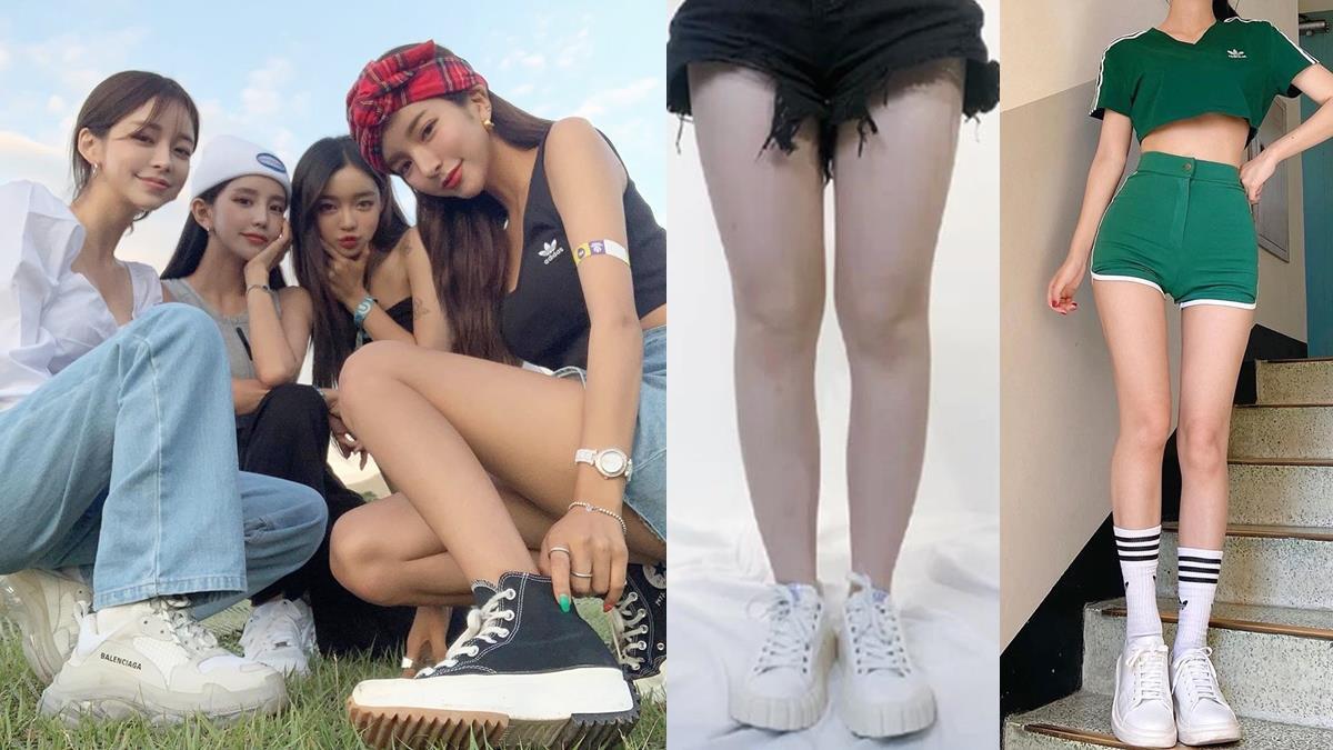 小腿粗穿圓頭帆布鞋超NG!4種超顯瘦「鞋&襪搭配」方法,穿搭正確腿瞬瘦2倍!