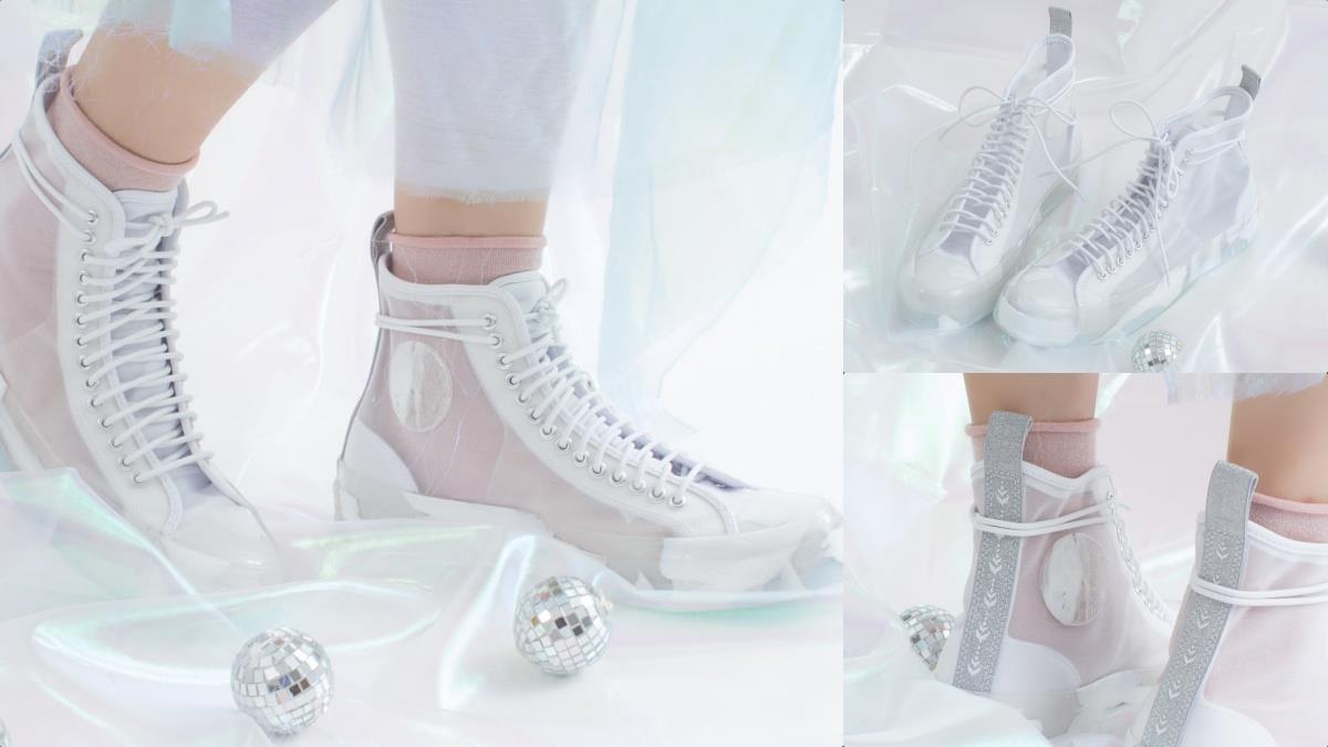 冰透鞋身太涼爽!Converse《冰雪奇緣》夢幻輕透白雪鞋奇蹟補貨,穿上秒走出Elsa般的迷人氣息~