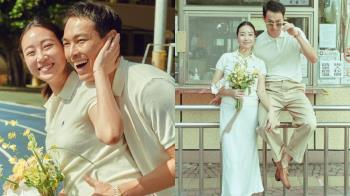 楊祐寧真的結婚啦!臉書神秘貼文「9.9」透露甜蜜暗號,曬一家三口浪漫合照實在太幸福~