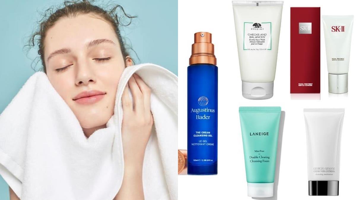 專櫃洗面乳貴得有道理!女星都瘋狂的「人氣洗面乳」推薦,養出蛋白肌洗臉超重要!