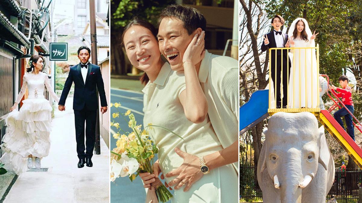穿上愛情的模樣!6對藝人夫妻《定情&婚紗照》浪漫至極:柯佳嬿氣質文青、楊祐寧簡約率性♥