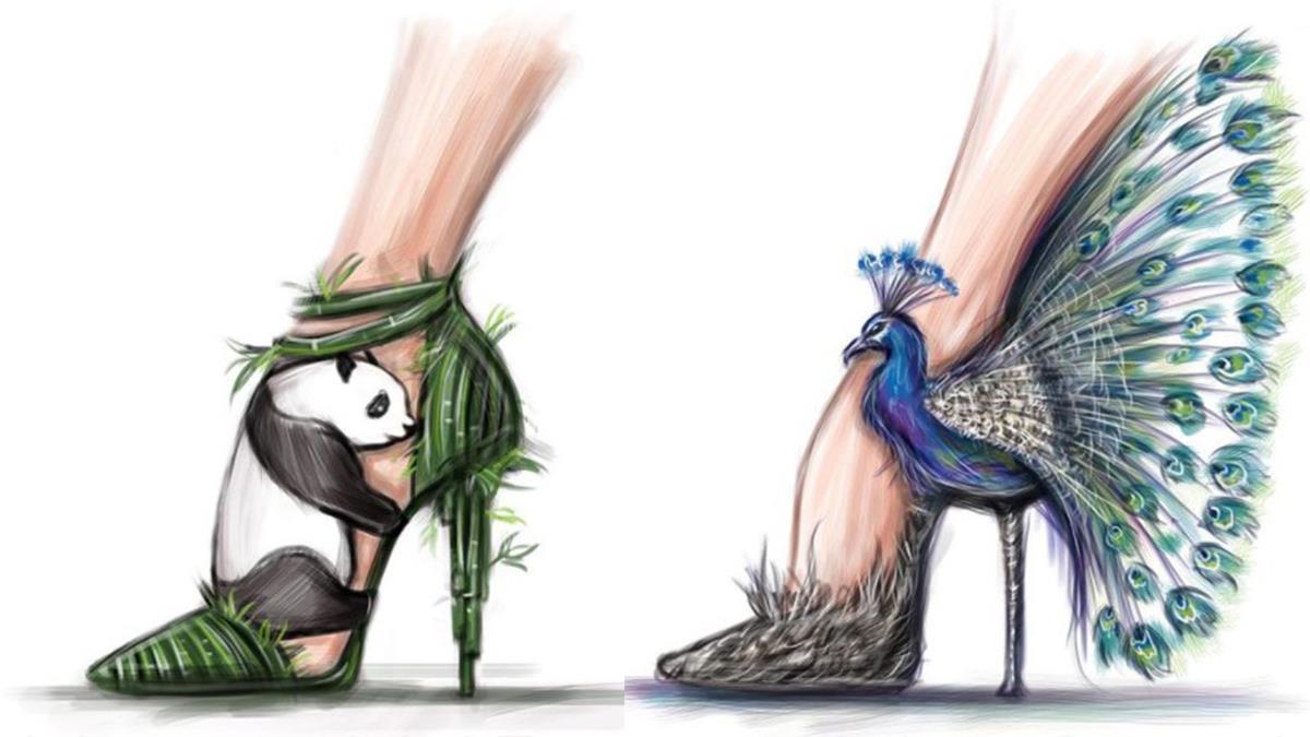是誰偷打開了Lady Gaga家鞋櫃!到底哪來的創意「搞怪但很美高跟鞋大賞」,有人想來挑戰仙人掌款嗎?