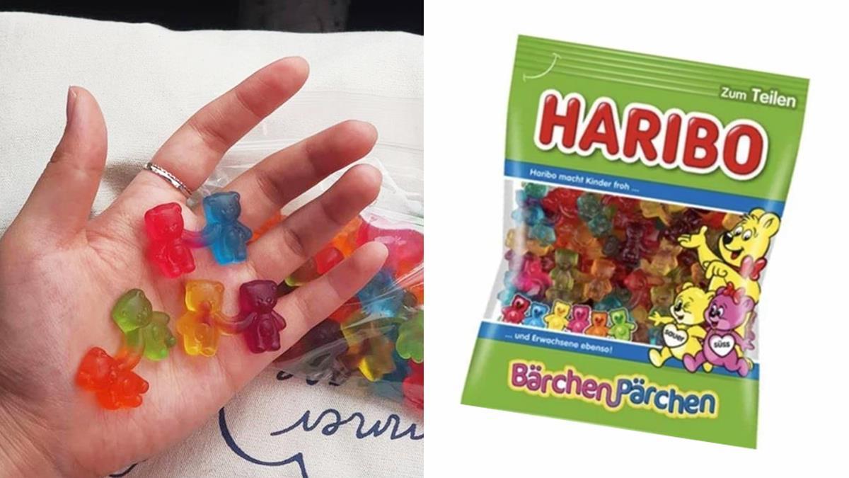 連軟糖都有「另一半」!小熊軟糖推出超Q「牽手放閃系列」,無論在哪也想要一直牽著你的手♥