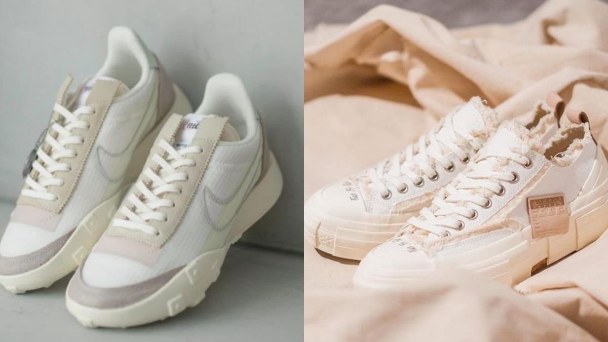 換季揪四要買新鞋啦!特搜5款超百搭「杏仁奶茶色」球鞋,解構帆布鞋時尚到一秒就愛上❤