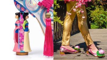 史上最醜聯名鞋?「迪士尼公主」聯名鞋醜到傻眼,這雙連花木蘭本人都不會想穿吧?!