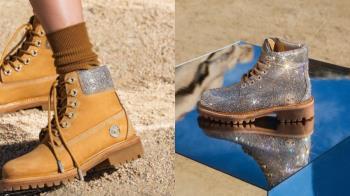 這雙鞋太過耀眼無法直視!Timberland超浮誇聯名「施華洛世奇登山靴」,4種款式「土豪程度」自己選~