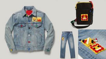 在外套上蓋一座樂高城堡!LEVI'S×LEGO聯名服飾通通有「DIY樂高區塊」,喜歡什麼圖案都能自己拼~