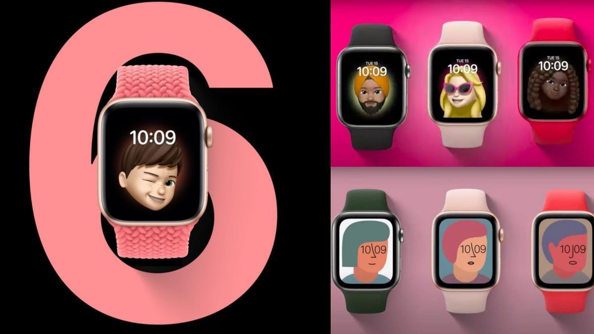 打造你的專屬手錶♥蘋果新發表「AppleWatchSeries 6」支援Animoji功能,顏色加倍、錶帶多樣CP值超高!