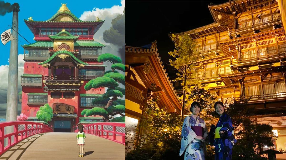 長野旅遊|正宗神隱少女湯屋原型「金具屋」感受滿溢昭和風情,真實電影場景讓人美哭了