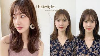 打造臉型黃金比例不用去韓國!髮型師靠這招讓你長下巴、瘦小臉,蓬鬆感輪廓更修飾!
