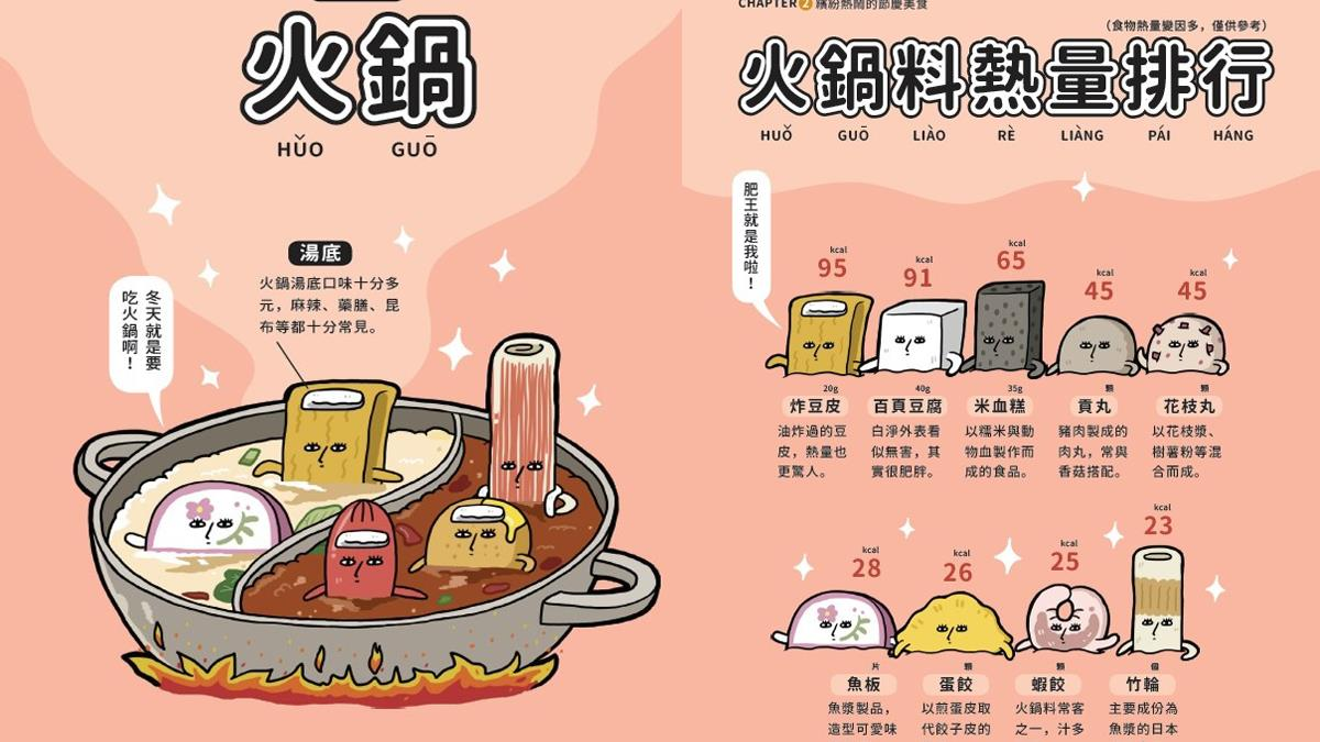抓到啦,肥王就是你!各種火鍋料的「熱量排行榜」大公開,看似無害的百頁豆腐熱量會嚇死你?!