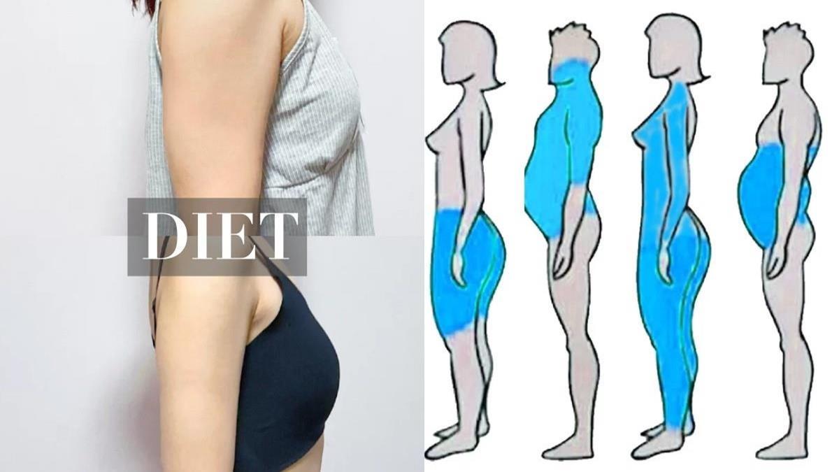 「蘋果型、梨形身材」看這裡!運動用對方法才有用,教練私房技巧大公開,依身材量身打造重點瘦身方法!