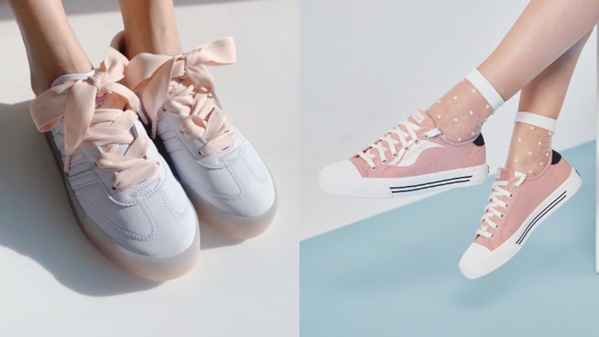 夢幻裸粉+極簡純白!10雙穿上充滿「粉紅泡泡」的球鞋,棉花糖色根本完成童年夢想!
