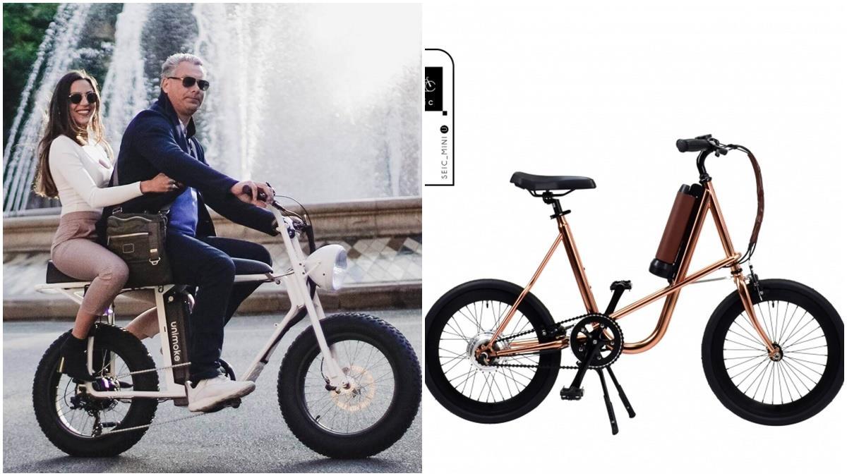 超吸睛!白色野餐進場專用腳踏車SEic質感爆棚,復古優雅享受都市悠閒生活