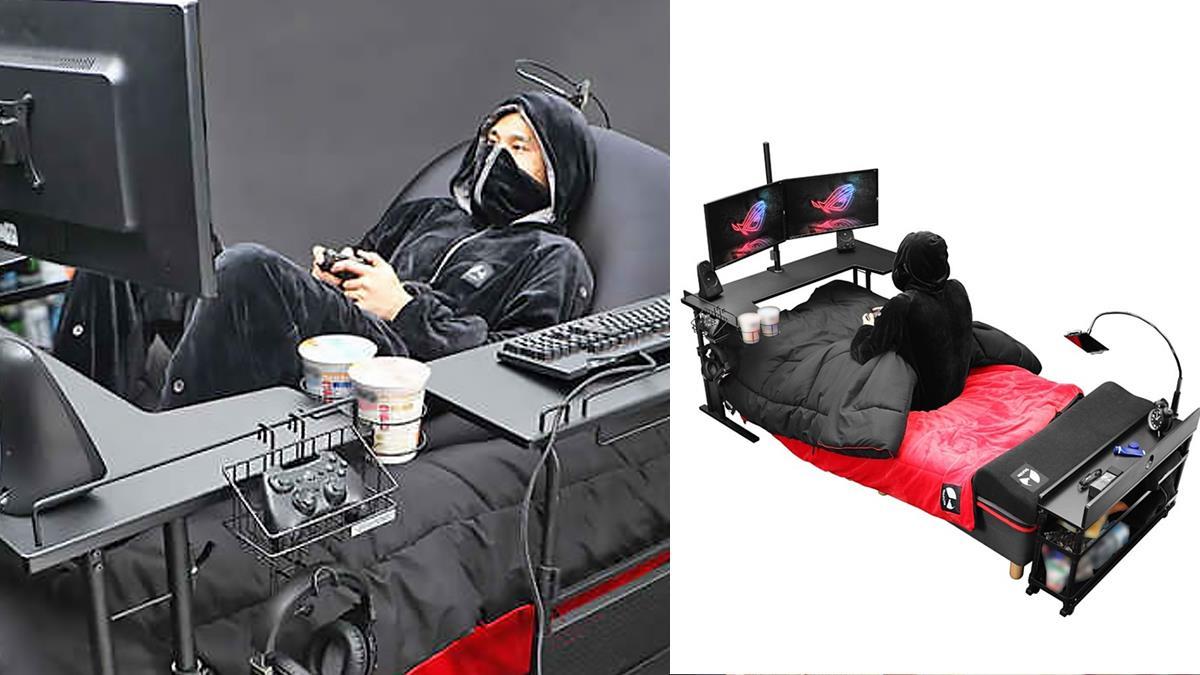 極致廢宅的福音!日本 Gaming Bed 電競家具組合