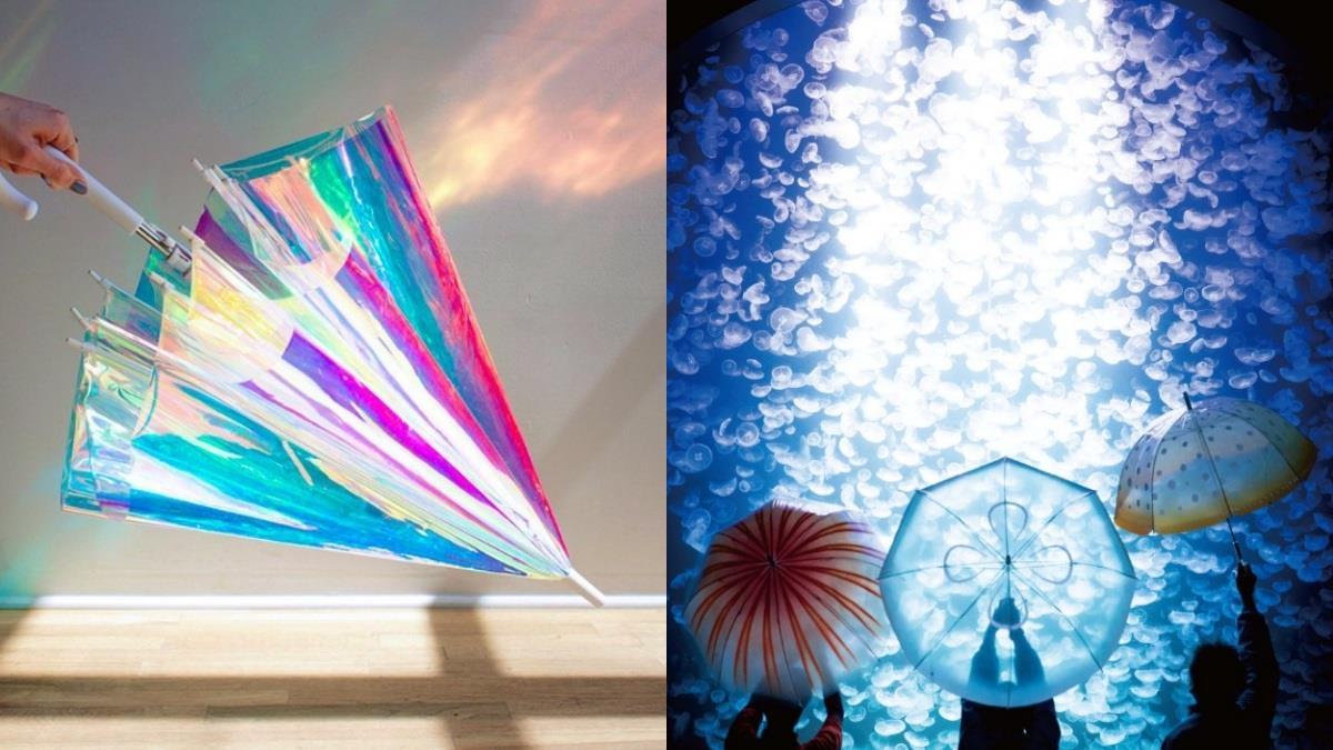 美到就算是晴天也想帶出門♥ 絕美精選「6款實用高顏值雨傘」,存在感百分百出門不再忘記它!