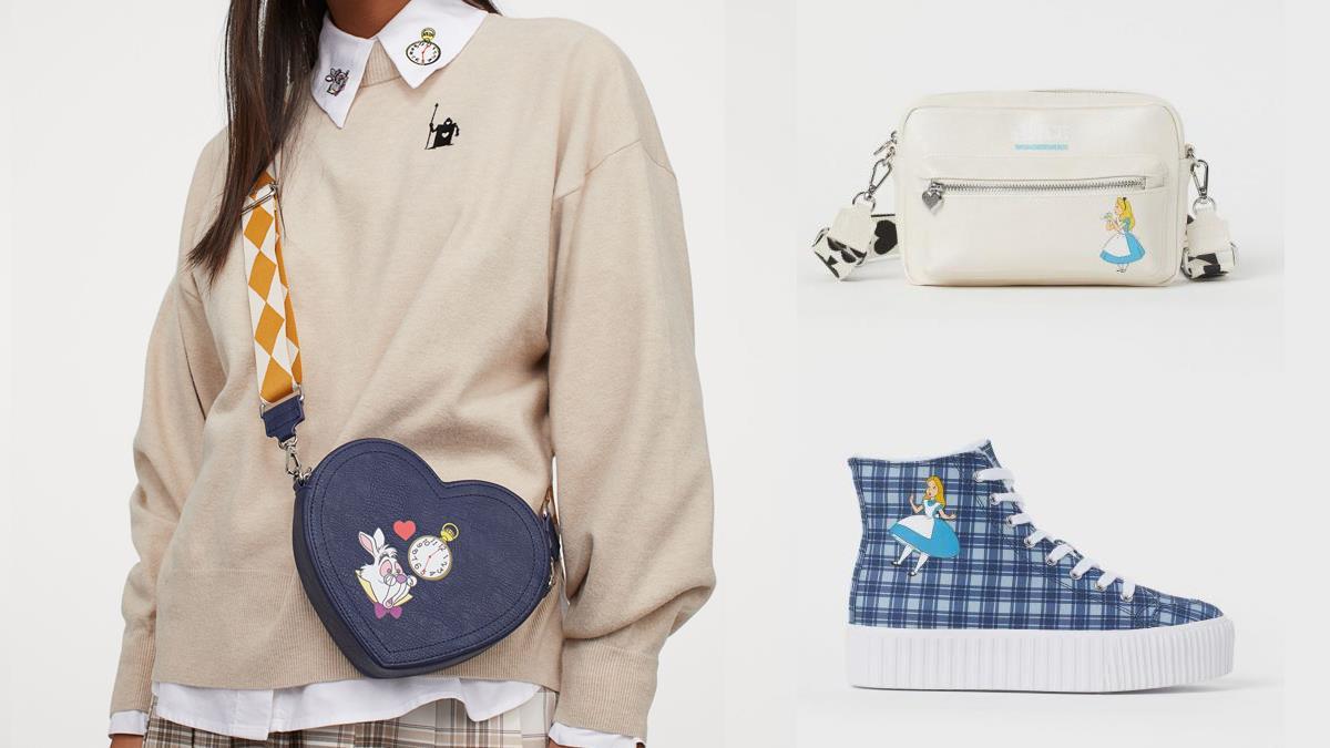 把愛麗絲的夢境穿上身!H&M✕《愛麗絲夢遊仙境》打造夢幻仙境單品,包包服飾全都百搭好看~