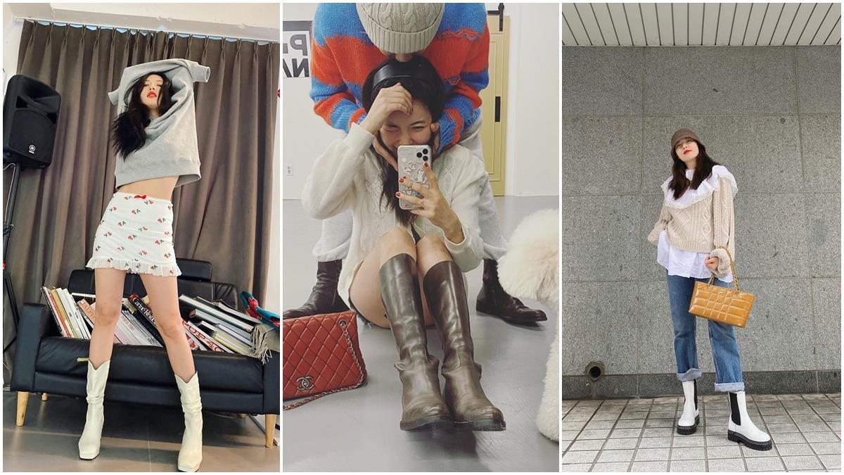 跟著小野馬這樣穿!炫雅穿搭6重點學起來,小隻女孩也能有視覺170cm的大長腿+完美比例!