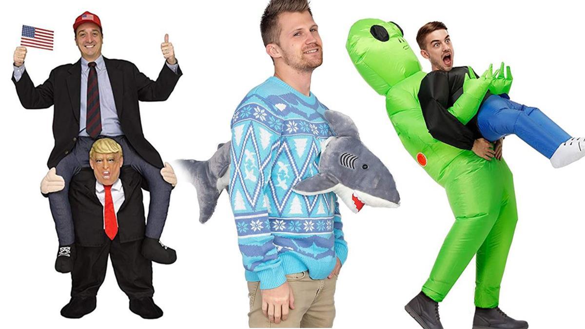到底誰能駕馭!超浮誇「變裝怪衣特集」一生超想穿一次,穿上直接被外星人綁架荒謬至極啊XD