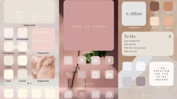 手把手教你做!簡單4招用「小工具Widget」設計專屬iPhone主畫面,美美排版看了心情就大好~