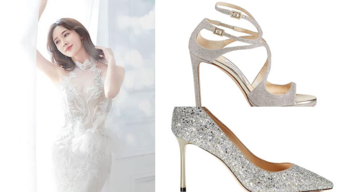 老公命定,鞋款也要是命定的♥8款精緻「夢幻婚鞋」推薦,柯佳嬿同款「金翅膀」怎麼搭都超氣質!