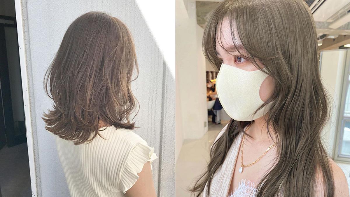 一路美到2021年~冷皮暖皮「秋季染髮」選色圖鑑,不用化妝就能自帶戀愛般的粉潤氣色!