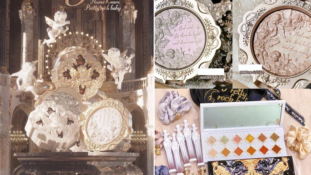 根本博物館級藝術品!小紅書熱議「小天使系列彩妝」顏值超高,打亮盤一刷就有仙女光