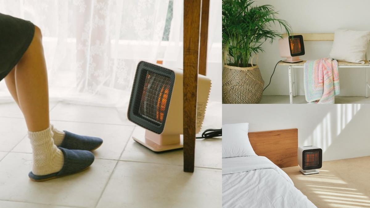 完全是暖男界的第一名!一人專用「迷你簡約風電暖爐」實在超Q,冬天沒人陪就讓暖爐伴妳過寒冬~
