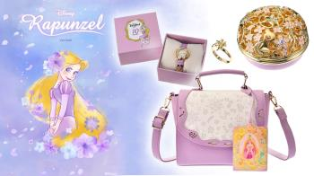《魔髮奇緣》10週年!迪士尼絕美週邊限量登場,「花朵鏤空戒指盒」超夢幻,眼影盤可愛又實用♥