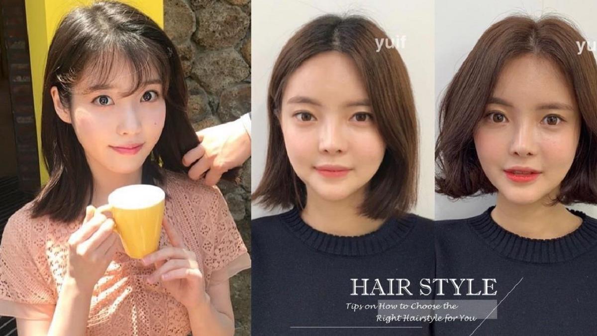 最強瘦臉髮型技巧!韓國髮型師4招改善圓臉&細軟髮:只要掌握「一個地方」的高度,月餅臉變瓜子臉