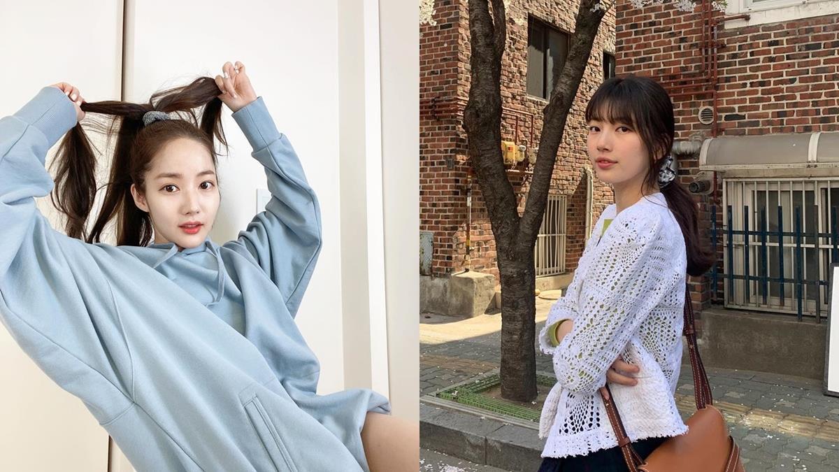 韓系馬尾必須學起來!5個細軟髮、稀疏髮「綁髮技巧」,蓬鬆不貼頭皮視覺上還能增加髮量!