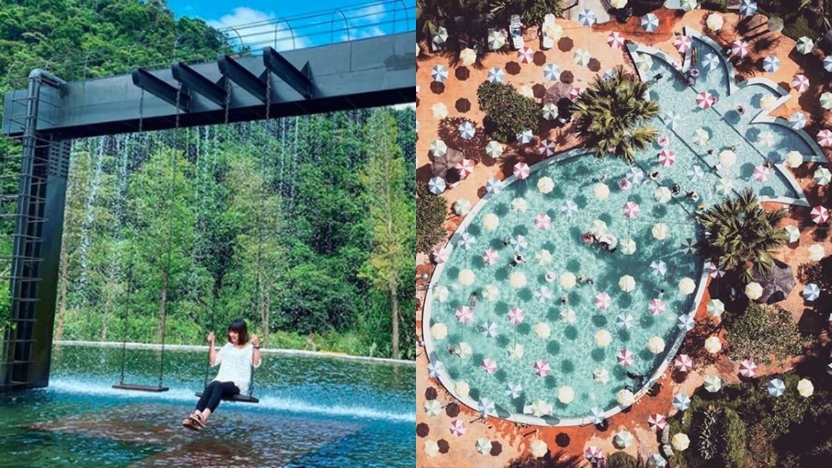 IG爆紅的森林系住宿!宜蘭絕美「鳳梨屋水上莊園」,被山嵐包圍的水濂瀑布盪鞦韆一定要拍!