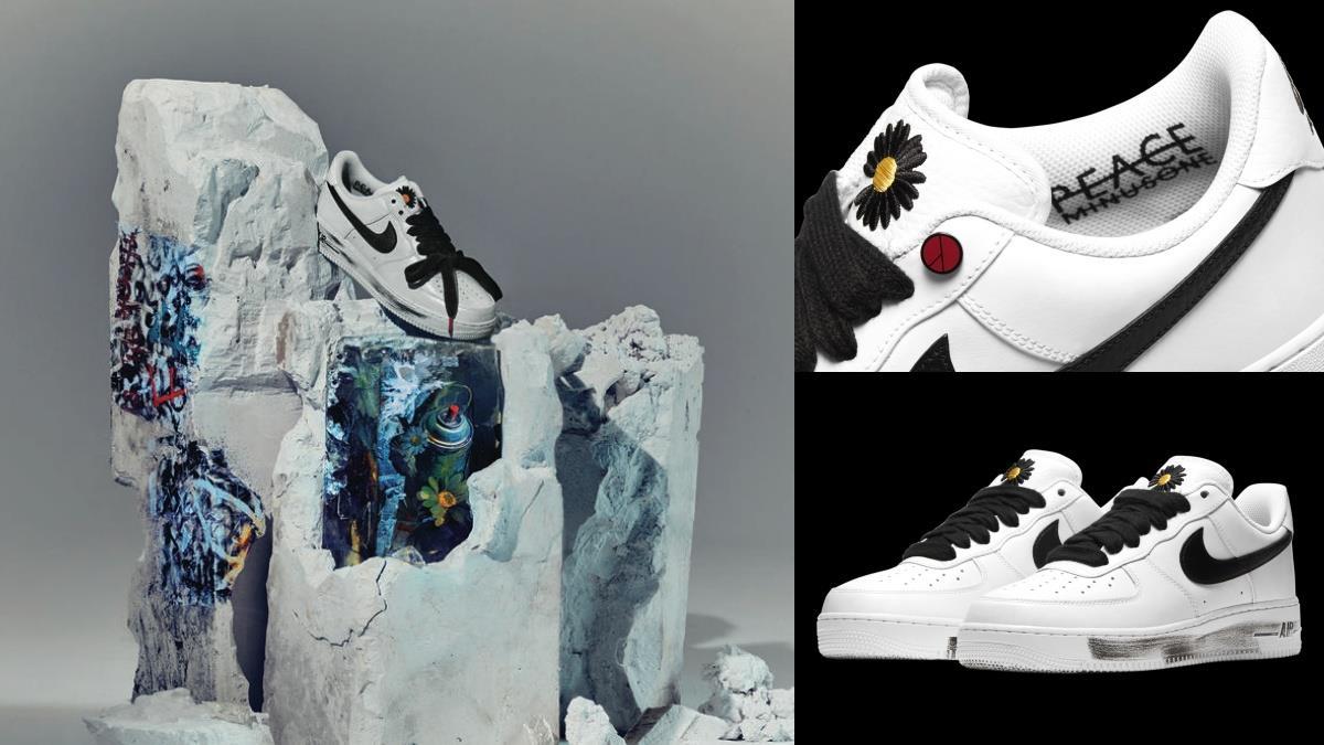 GD經典款王者歸來!GD✕Nike攜手推「AirForce1聯名鞋」,油漆刷舊+鞋底彩蛋穿上只有帥氣啊!