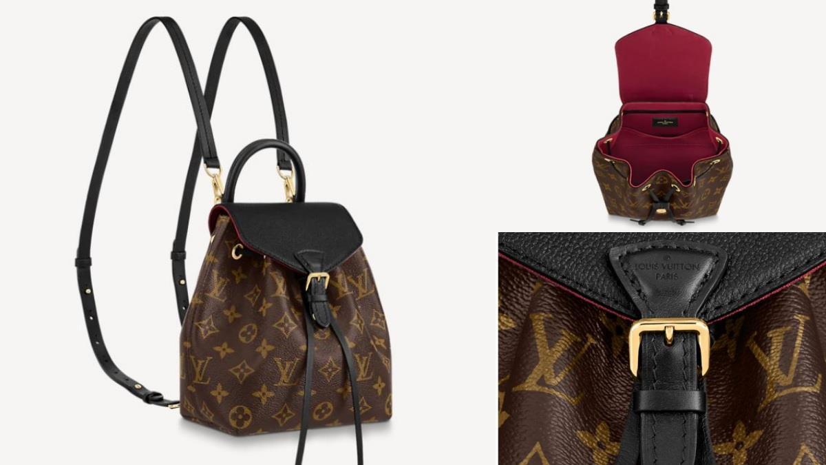 永不退流行的心動熱門包款♥LV最新推出「2 Way老花迷你後背包」,輕巧好攜帶還有同款放大版!