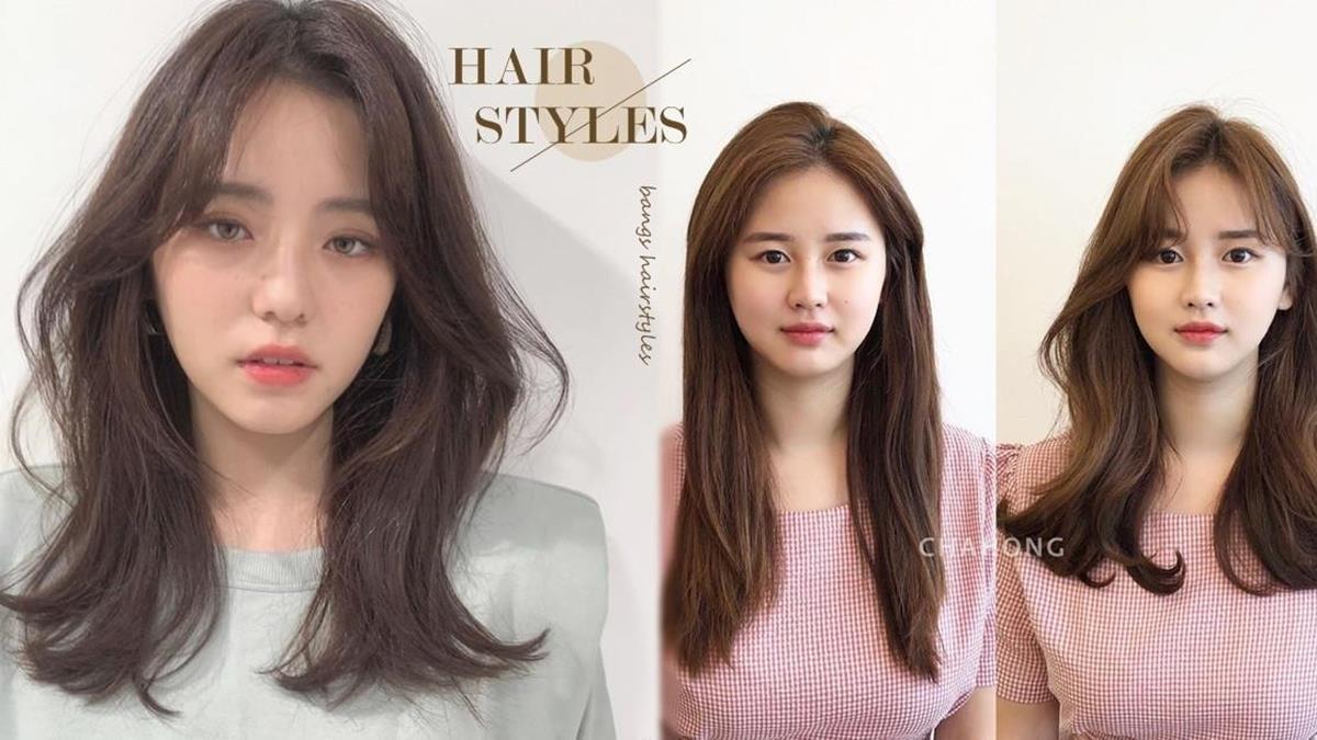 不用進廠維修也有小臉又減齡!髮型師公開「臉型選瀏海」技巧,八字瀏海竟然是圓臉顯瘦神器!