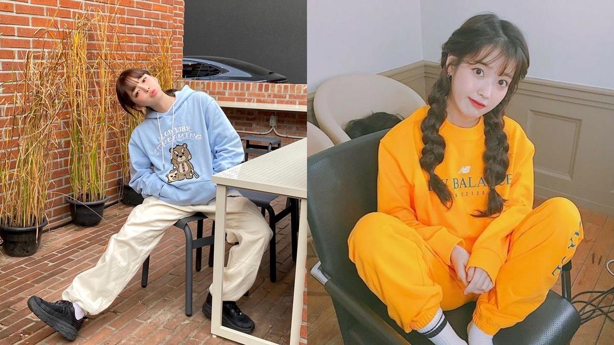 韓系隨性穿搭超減齡!5種「衛衣、大學T」穿搭範本,再加一件白T超修飾!