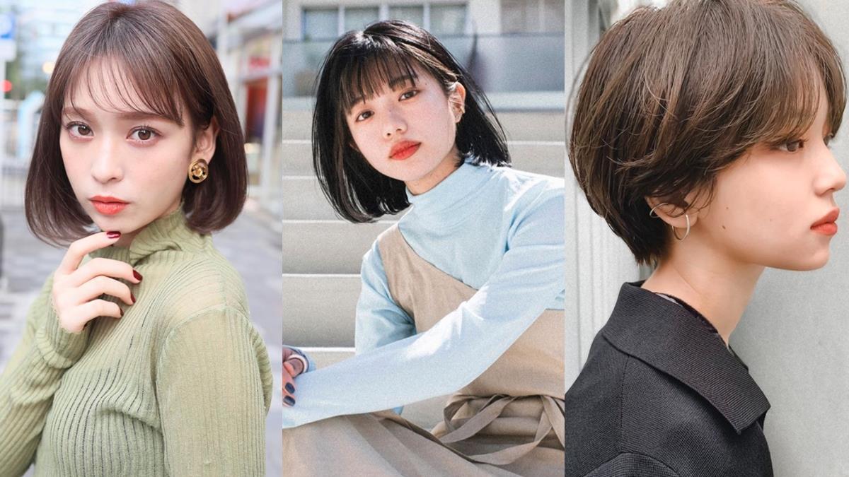 日本妞都指定要剪!2020秋冬「中短髮」5大髮型趨勢:臉型短的女孩選第4個瀏海最顯瘦!