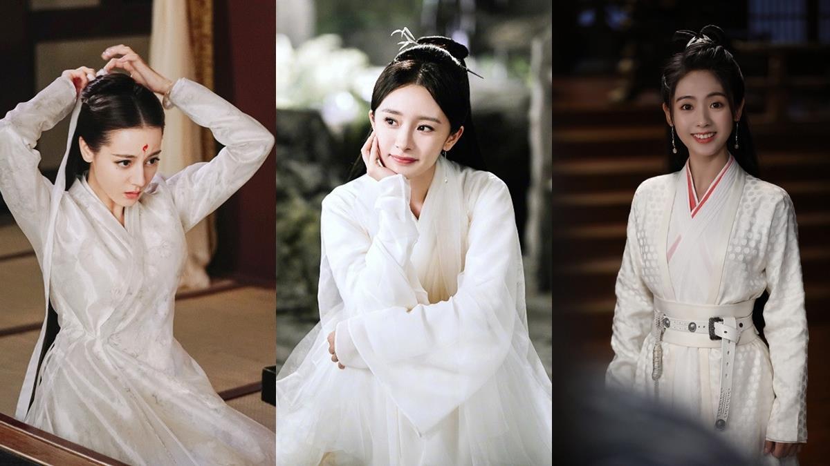 2020古裝劇10位「白衣美人」!袁冰妍《將夜》好仙,但還是楊冪《三生三世枕上書》最美!