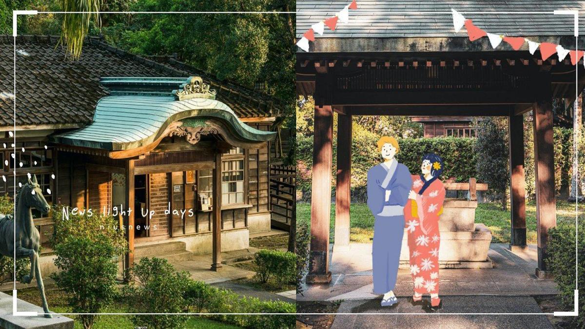 全台首創「藏仙神社市集」桃園!木造建築+石燈籠,穿上浴衣與木屐彷彿來到日本