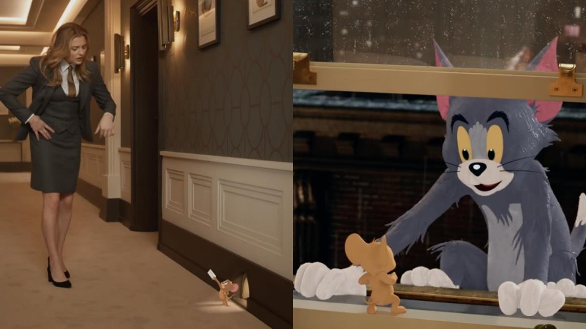 貓鼠大戰又要開打!《湯姆貓與傑利鼠》真人版預告曝光,到現實世界跟超殺女、老周鬥智!