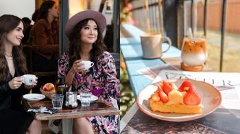 《艾蜜莉在巴黎》女孩的浪漫不出國也能身臨其境!網美必去「法式咖啡廳」,不能出國就假裝出國!