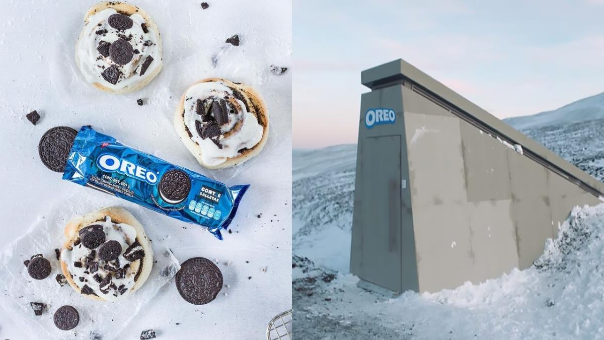 世界毀滅也不會失傳!Oreo建「末日保險庫」儲存原料配方,超高科技包裝誓言守護人類最愛的餅乾!
