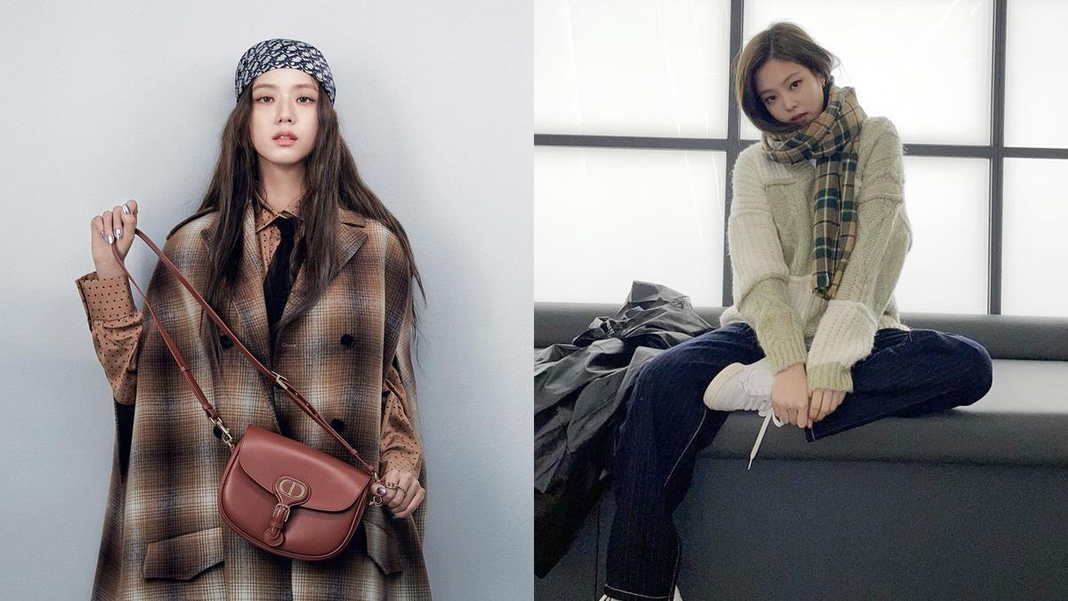 秋冬「圍巾穿搭」就看Blackpink!韓星5招穿出個性高級感,「格紋」真的是永恆的經典!