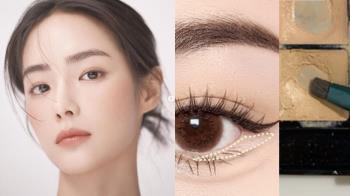 手殘也能零失誤的眼睛放大術!2020秋冬韓國超火「無眼影妝容」,單眼皮跟腫泡眼千萬別錯過!