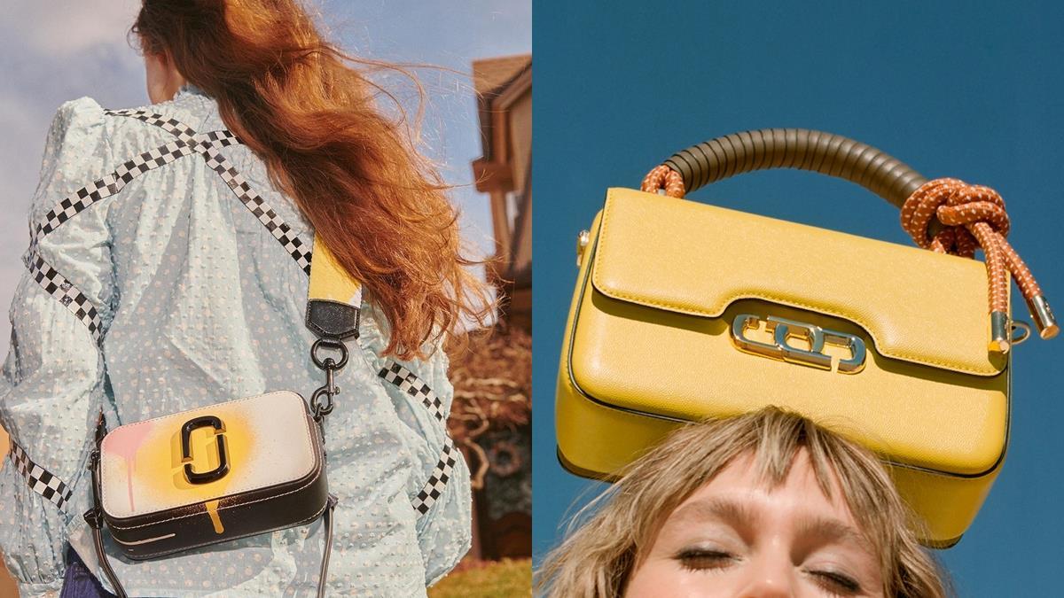 相機包遇到對手了!Marc Jacobs「秋冬新包」閃亮登場,萊姆黃+皮革編織再次攻佔少女衣帽間!
