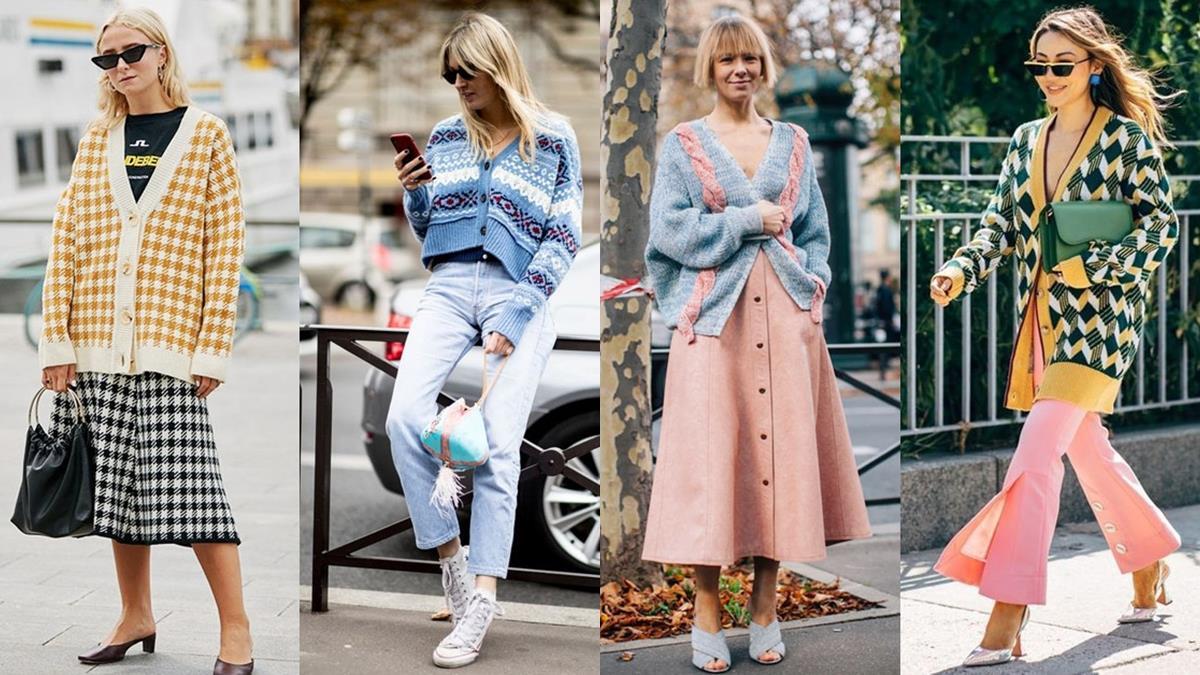 誰敢再說我的復古時尚老氣!「開襟外套」穿搭推薦Top 8,一件單品一週穿搭直接搞定!