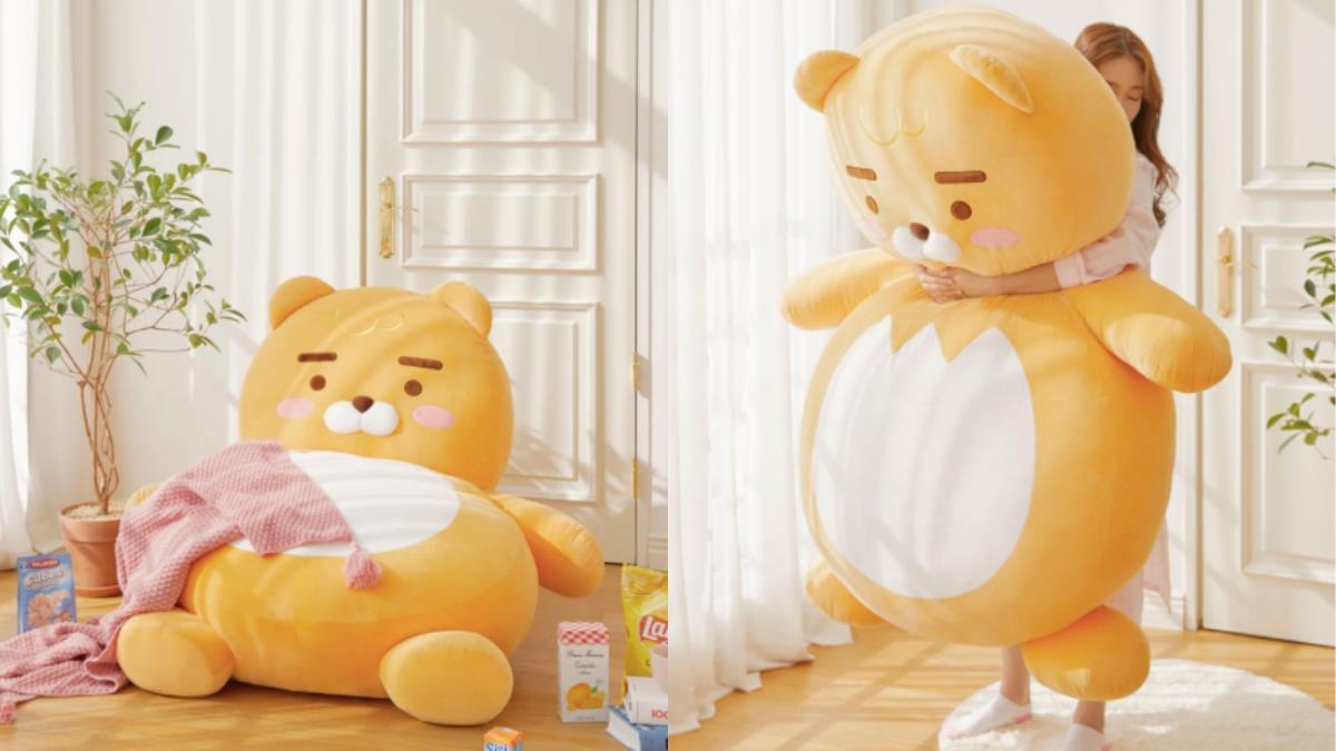 冬天就跟這隻獅獅放閃!最佳床伴「萊恩懶人沙發床」能躺能靠又能抱,沒男朋友也能感受到滿滿的愛♥