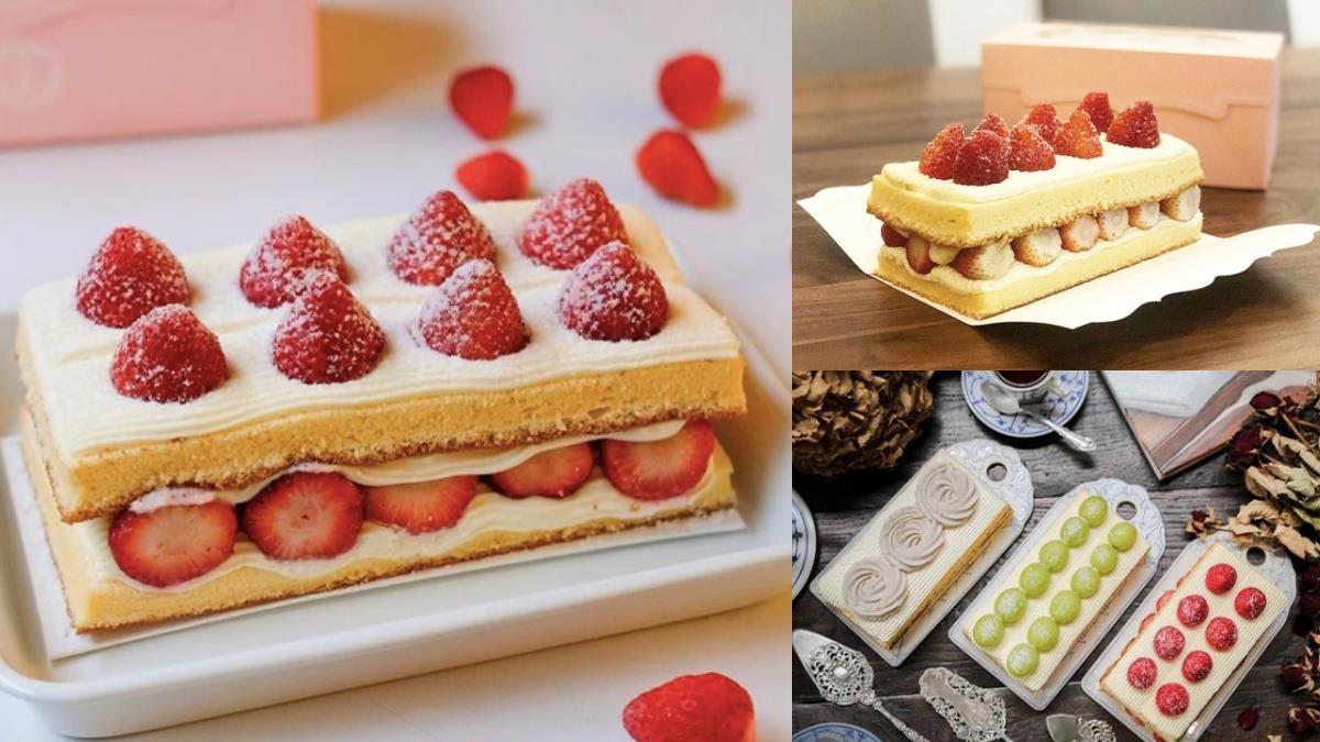 巧克力&抹茶口味也神!士林隱藏「限定雙層草莓蛋糕」,大顆草莓mix滑順鮮奶油、酸甜滋味太罪惡~